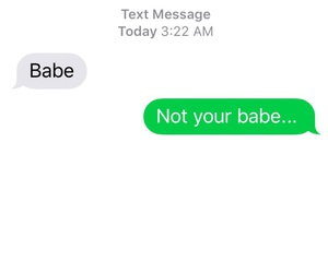 babe, savage, and texts image