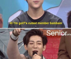 got7, kpop, and bambam image