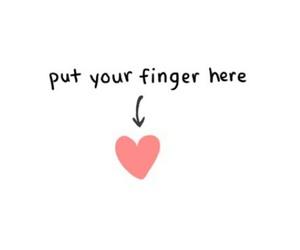 heart finger heart put me image