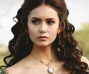 Nina Dobrev, tvd, and katherine pierce image