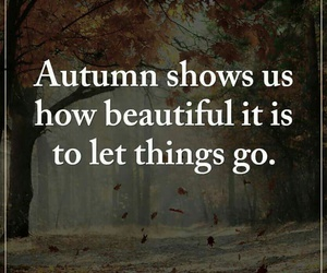autumn, life, and qoutes image