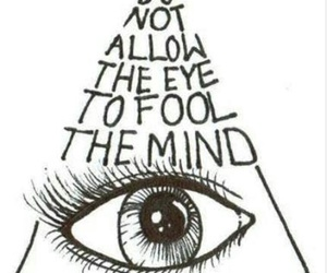 eye, quotes, and mind image