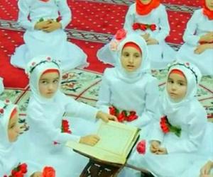adorable, islam, and kids image