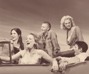 one tree hill, car, and oth image