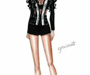 pretty little liars, emily fields, and art image