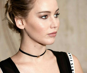 Jennifer Lawrence, makeup, and paris image