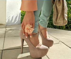 Chick, fashion, and high heels image