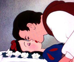 kiss, disney, and snow white image