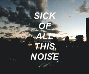quote, sky, and halsey image