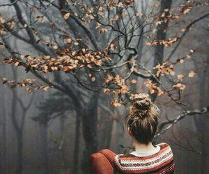 girl, autumn, and fall image
