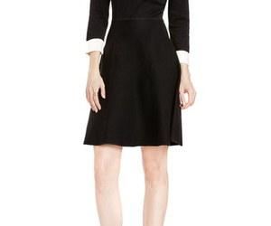 dress, fashion, and sweater dress image