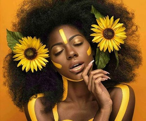 yellow, flowers, and beauty image