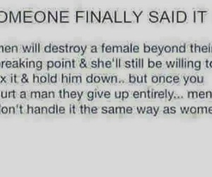destroy, female, and finally image