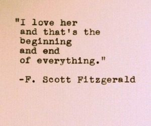 fitzgerald, literature, and quote image