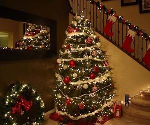 christmas, santa claus, and snow image
