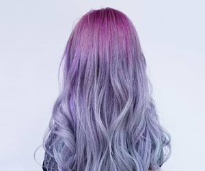 hair, hair style, and long hair image
