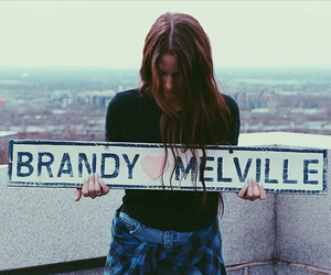 fashion, girl, and brandy melville image