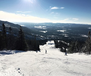 Skiing, Sunny, and sweden image