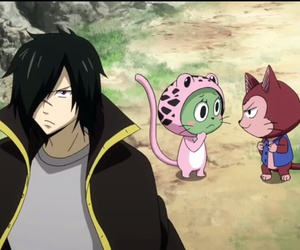 fairy tail, frosch, and rogue cheney image