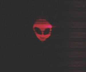 alien, cool, and red image