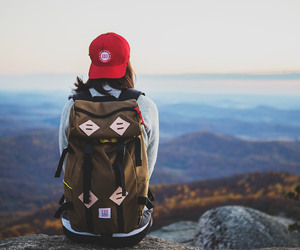 travel, mountains, and adventure image