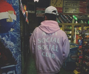 hoodie, pink, and cyber ghetto image