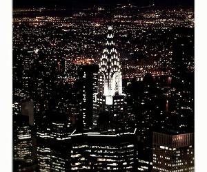 black, new york, and city image