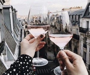 city, drinks, and view image