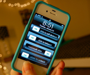 iphone, blue, and funny image