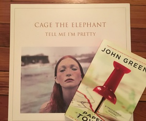 aesthetic, book, and cage the elephant image