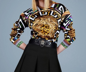 fashion, haute couture, and Versace image