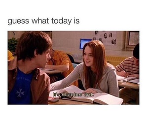 mean girls and october image