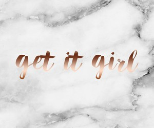 marble, quotes, and rose gold image