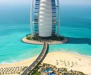 Dubai and burj al arab image