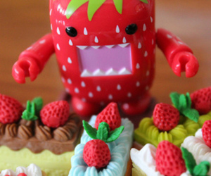 strawberry and domo image