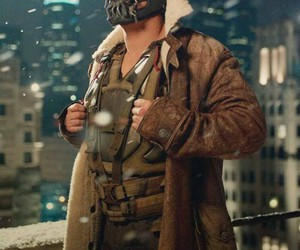 mens, bane, and winter outfit image