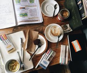 books, coffee, and sugar image