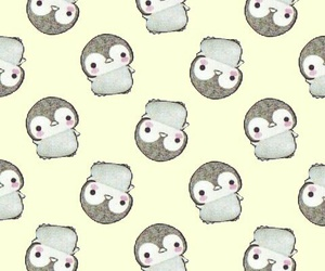 little, pattern, and penguin image