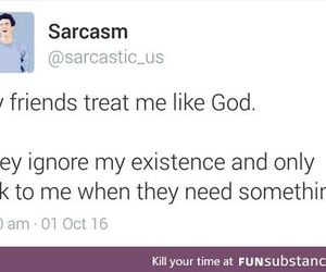 ignore, sarcasm, and funny tweet image
