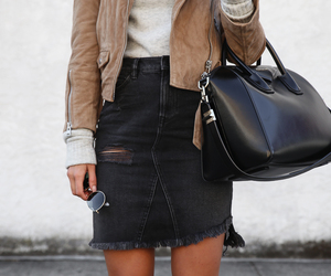 fashion, black, and cute image