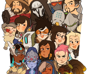 overwatch, boy, and fanart image