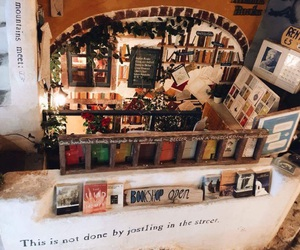 book, bookstore, and Greece image
