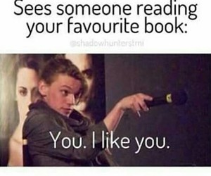 book, reading, and favourite image