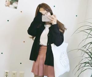 beautiful, koreangirl, and chinese image