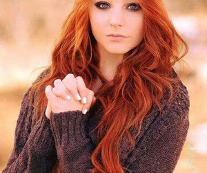 redhead, hair, and ginger image