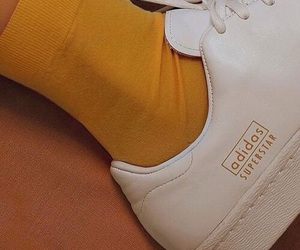 adidas, shoes, and yellow image