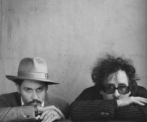 tim burton and johnny depp image