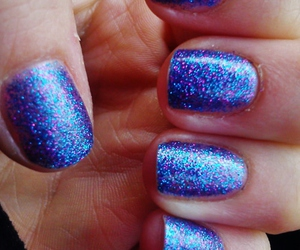 glitter, blue, and mystical image