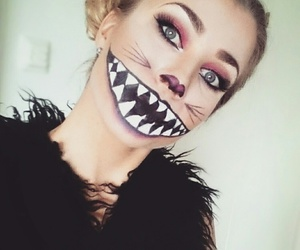 cat, Cheshire cat, and cosplay image