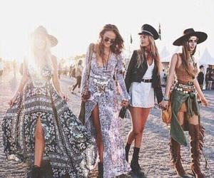 fashion, coachella, and festival image
